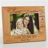 special aunt personalized photo frame 5 x 7 13353 m