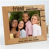 Forever Friends Personalized Picture Frame - 8 x 10 - 13355-L