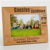 Cousin's  Personalized Picture Frame - 5 x 7 - 13356-M