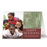 Our Loving Family Photo Christmas Cards - 13357