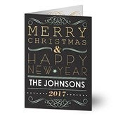 'Tis The Season Personalized Christmas Cards - 13362