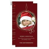 Holiday Wreath Digital Photo Postcards - 13364