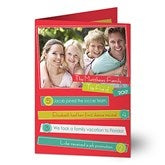 Top Highlights Of The Year Photo Christmas Cards- Top 5 - 13374-F