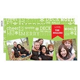 All About Christmas Digital Photo Postcards - 13376