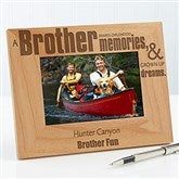 Special Brother Personalized Photo Frame - 4x6 - 13381