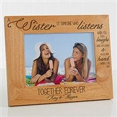 Special Sister Personalized Photo Frame- 5 x 7 - 13382-M