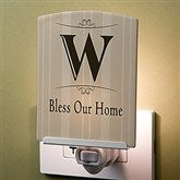 Elegant Monogram Personalized Night Light - 13383