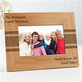 Simplicity Write Your Message Personalized Photo Frame- 4 x 6 - 13393-S