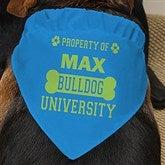 Property of...Personalized Dog Bandana - 13394