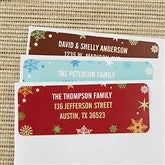 Season's Greetings Return Address Labels - 13414