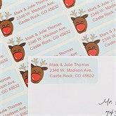 Playful Reindeer Return Address Labels - 13415