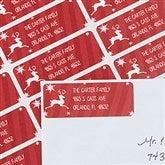 Classic Reindeer Return Address Labels - 13416