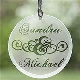 Circle of Love Personalized Suncatcher