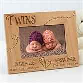 Twin Love Personalized Frame- 4 x 6 - 13441-2
