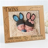 Twin Love Personalized Frame- 8 x 10 - 13441-2L