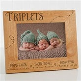 Triplet Love Personalized Frame- 5 x 7 - 13441-3M