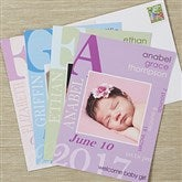 All About Baby Photo Birth Announcement - 13443
