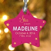 1-Sided A Star Is Born Personalized Ornament - 13446-1