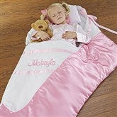 Embroidered Satin Ballerina Slipper Sleeping Bag