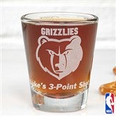 NBA Logo Personalized Shot Glass - 13479