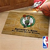 NBA Logo Personalized Recycled Rubber Back Doormat - 13480-S