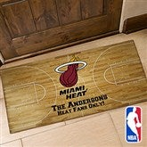 NBA Logo Personalized Oversized Doormat - 13480-O
