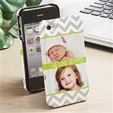 Picture Perfect Chevron  iphone 4/4s Hardcover Cell Phone Case- 2 Photo - 13483-2
