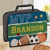 Ready, Set, Score Personalized Lunch Bag - 13491