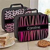 Animal Print Personalized Lunch Tote - 13493
