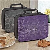 Hidden Name Personalized Lunch Tote - 13494