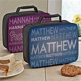 My Name Personalized Lunch Tote - 13495
