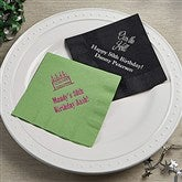 Party Time Birthday Napkins - Beverage Size - 13510D-B