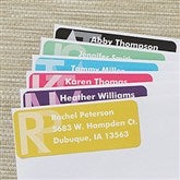Large Monogram Return Address Labels - 13518