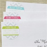 Chevron Personalized Address Labels - 13520