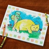 Doodling Is Fun Personalized Drawing Pad- 8.5x11