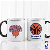 NBA Personalized Black Handle Mug-11 oz. - 13530-B