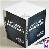 NBA Personalized Paper Note Cube - 13533