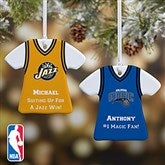 NBA Personalized T-Shirt Ornament - 13534