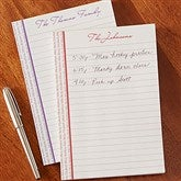 Family Is Forever Personalized Notepad - 13542