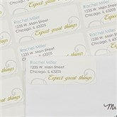 Inspirational Quote Return Address Labels - 13549