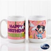 Disney® Personalized Happy Birthday Coffee Mug- 15 oz. - 13564-L