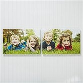 Photo Canvas 2pc Split-Panel Print Collection - 12x18 Horiz. - 13566-H