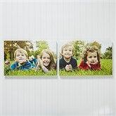Photo Canvas 2pc Split-Panel Print Collection - 12x18 Horiz. - 13566-H