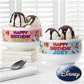 Disney® Personalized Happy Birthday Bowl - 13599-N