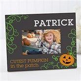 Cutest Pumpkin Personalized Picture Frame - 13628