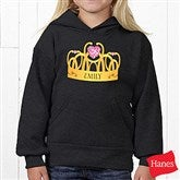 Princess Personalized Youth Hooded Sweatshirt - 13629-YHS