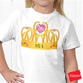 Princess Personalized Hanes® Youth T-Shirt - 13629-YCT