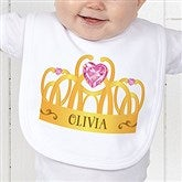 Princess Personalized Infant Bib - 13629-B