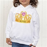Princess Personalized Toddler Hooded Sweatshirt - 13629-CTHS