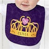 Princess Personalized Baby Bib - 13629-B